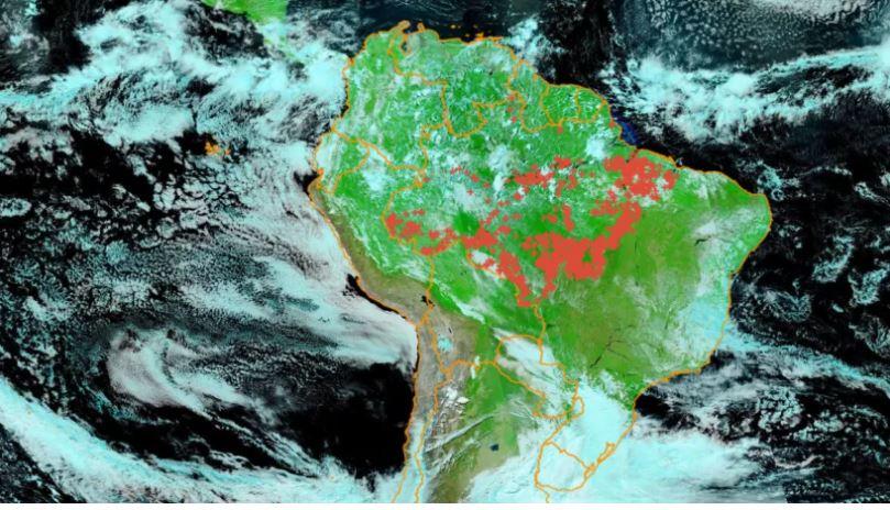 Fire in Amazon