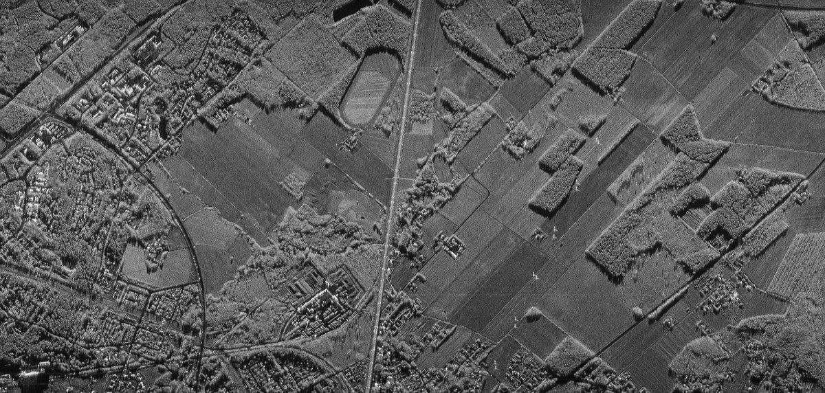 Satellite SAR Image