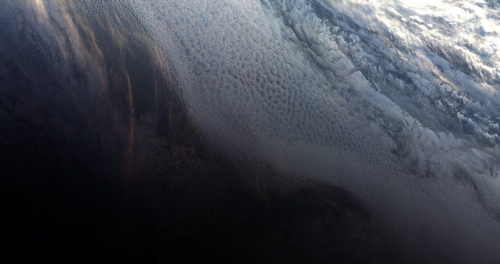 Antarctic Sunset - SENTINEL-3B